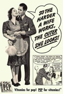 Old Ad - Wife